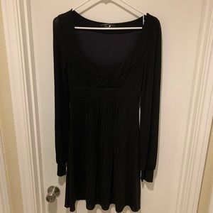 BCBGMaxAzria Black Long Sleeve Dress